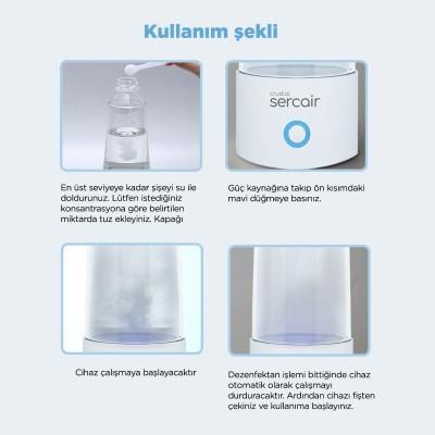 Elektrolize Su Üreten Sterilizasyon Spreyi Crystal