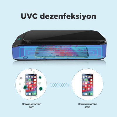 UVC Sterilizasyon Kutusu Sercair Wave