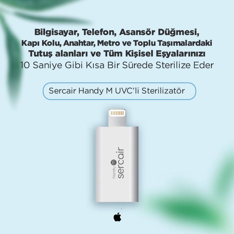 Taşınabilir UVC Sterilizatör Sercair Handy M