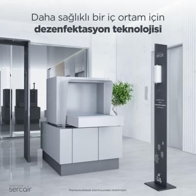 Otomatik Spreyli El Dezenfektan Standı Vision Tower