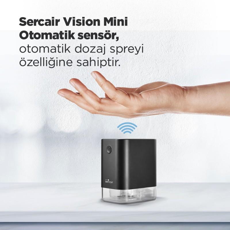 Taşınabilir Mini Otomatik El Dezenfektan Makinesi Vision M
