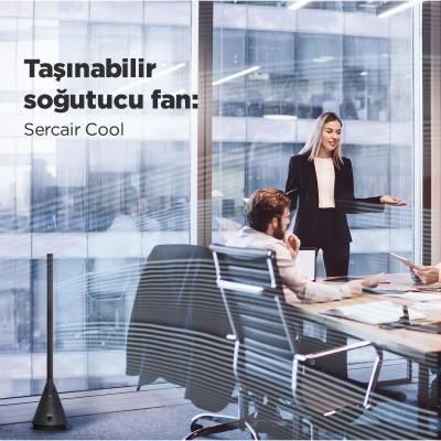 Taşınabilir Klima Etkili Soğutma Fanı Sercair Cool