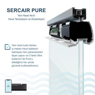 Akıllı Hava Temizleme Cihazı Sercair Pure