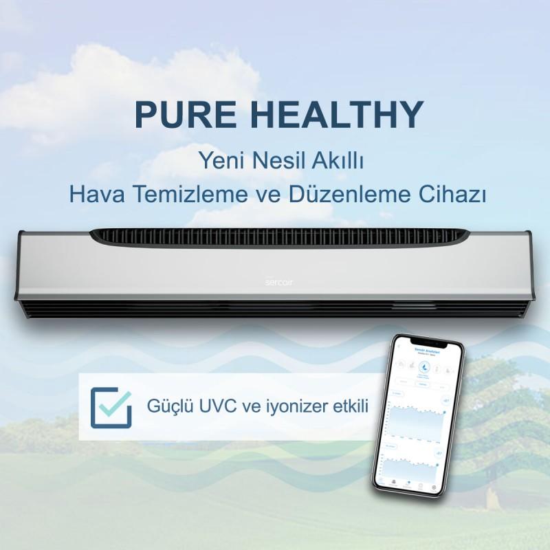 Akıllı Hava Temizleyici Sercair Pure Healthy