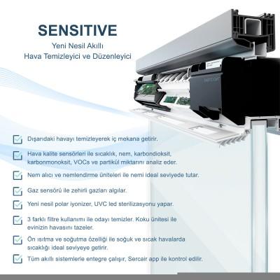 Akıllı Hava Temizleyici Sercair Sensitive